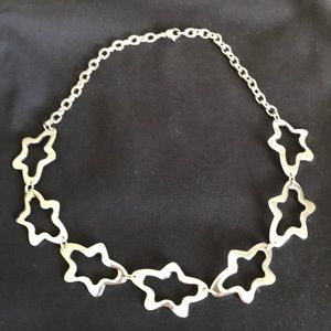 Jewelry - Star necklace silver NWOT